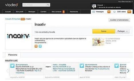 Tutoriel pour concevoir sa page Entreprise sur Viadéo | ALN : Arpege Learning Network (Groupe ARPEGE) | Scoop.it