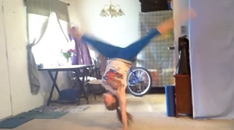 Learning One Handed Cartwheels - Uncommon Fitness   Anything Fitness   Scoop.it