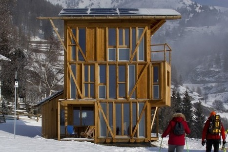 Casa Solare : une tiny-house autonome en énergie | Solutions alternatives pour un monde en transition | Scoop.it