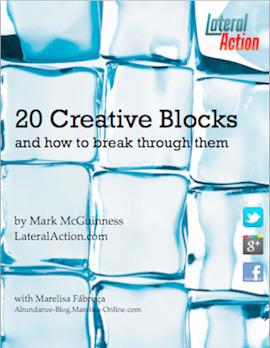 Creative Blocks: Free Ebook | Creative Life-The Artist's Way | Scoop.it