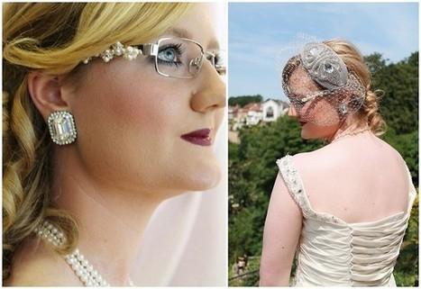 Exclusive Offer - 15% off Bridal Eyewear by Karen Louise | Bridal Hair and Beauty | Scoop.it
