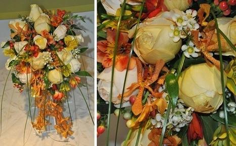 bridal_florals13.jpg (585x360 pixels)   Autumn wedding ideas   Scoop.it