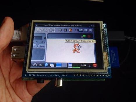 Twitter / Code_ED: @Raspberry_Pi + tiny touchscreen ... | Raspberry Pi | Scoop.it