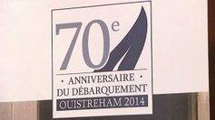 Ouistreham dévoile son logo pour le 70ème anniversaire du Débarquement | Visual Strategy | Scoop.it