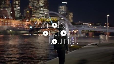 Visitez Melbourne à distance en prenant le contrôle d'un touriste : Remote Control Tourist | Anticipation Prospective | Scoop.it
