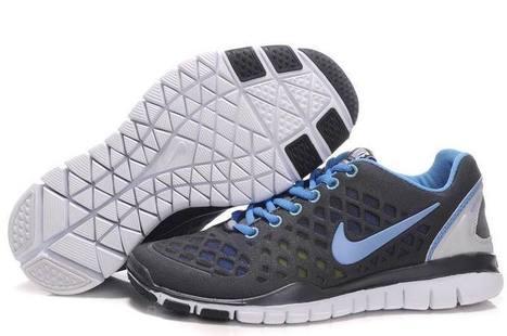 Nike Free TR Fit Women Dark Gray Blue | fashion outlet | Scoop.it