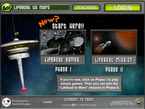 Lifeboat to Mars | Digital Delights - Avatars, Virtual Worlds, Gamification | Scoop.it