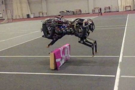MIT's robotic cheetah can now leap over obstacles | Gizmag | Cultibotics | Scoop.it