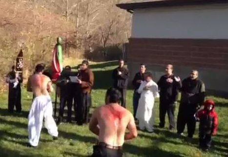 Graphic Video: Stunning Moment as Child Is Coached on Self-Flagellation During Bloody Muslim Ritual at Alleged U.S. Mosque   Video   TheBlaze.com   Restore America   Scoop.it