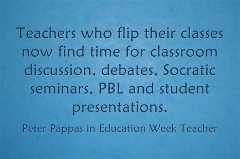 Response: To Flip, Or Not To Flip, A Classroom - That Is The Question | ict - tics | Scoop.it