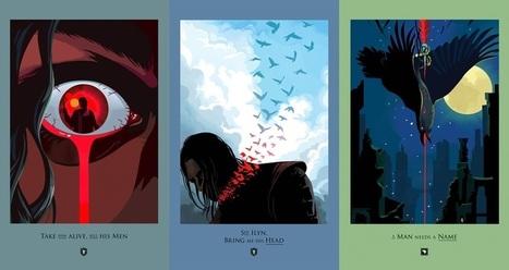 Alucinantes pósters de cada episodio de 'Game of Thrones' | EVENTOS PUBLICITARIOS | Scoop.it