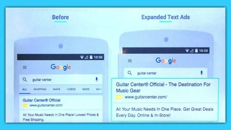 What You Need to Know About Google's Expanded Text Ads | SEO Doctor | Scoop.it