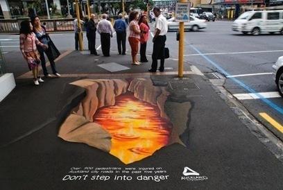 10 creativos anuncios colocados sobre el suelo | Ciencias Naturales | Scoop.it