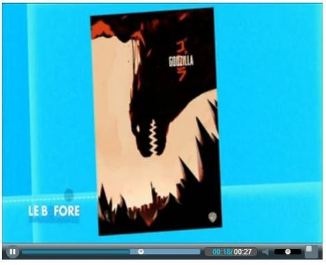Le Before du Grand Journal - Canal +   Godzilla - TV & Web Coverage   Scoop.it