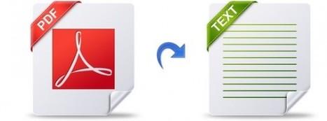 Comment convertir un fichier PDF en texte avec Google Docs | Autour du Tuto | Comptoir Numérique | Scoop.it