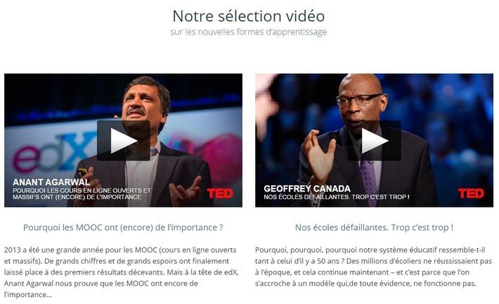 Une nouveauté sur MOOC Francophone... Les vidéos ! | MOOC Francophone | Scoop.it
