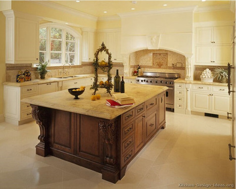 Antique White Kitchen Designs Ideas | All Dreaming | Kitchens | Scoop.it