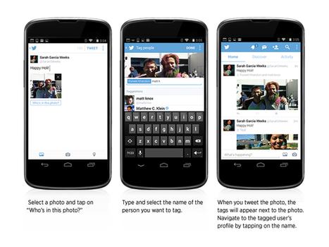Twitter vous permet d'envoyer 4 photos en même temps et d'y taguer des gens   François MAGNAN  Formateur Consultant   Scoop.it