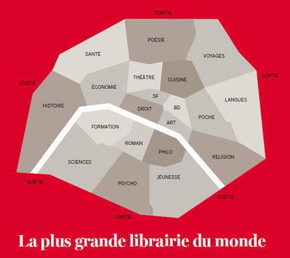 Un site des librairies parisiennes | Arobase - Le Système Ecriture | Scoop.it
