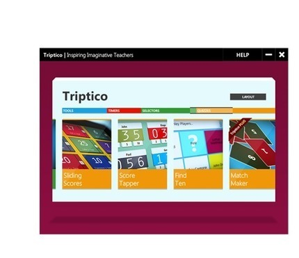 Triptico | Tools for the Classroom | Scoop.it