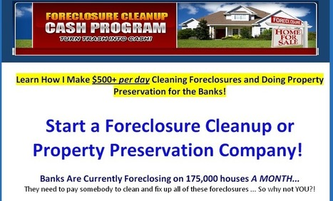 Social News Source: Huge Profits Cleaning Foreclosures For The Banks   Best Social Media on the Web   Scoop.it
