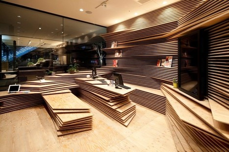 Multipurpose Creative Space in Tokyo by Kengo Kuma and Associates | Design | Scoop.it