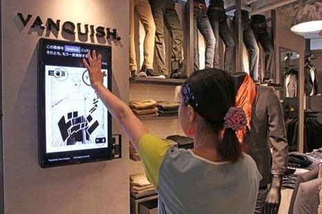Japon : Quand les cintres d'un magasin déclenchent les contenus d'écrans d'affichage numérique - Altavia Watch | Marketing Communication news | Scoop.it