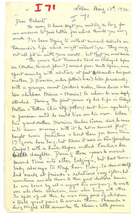 Caixa com textos inéditos de Fernando Pessoa é encontrada na África do Sul | Paraliteraturas + Pessoa, Borges e Lovecraft | Scoop.it