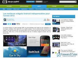 Les meilleurs widgets Android de 2013 | netnavig | Scoop.it