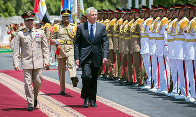 US defence chief reaffirms military ties with Egypt - Ahram Online | Human Rights Issues: The Latest News | Scoop.it