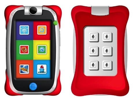 Fuhu's Nabi Jr. Tegra-powered kiddie tablet keeps the small ones occupied for five minutes | Kids-friendly technologies | Scoop.it
