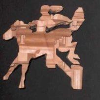 Magic Angle Sculpture | Anamorphic Sculpture | Scoop.it