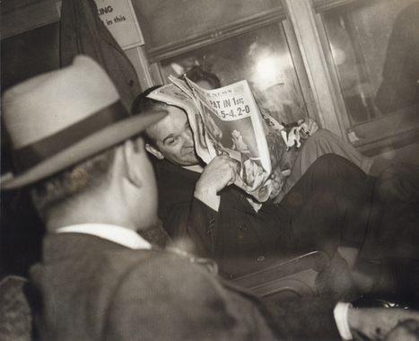 """Photo Exhibit """"PM New York Daily: 1940-48"""" Rediscovers One of NYC's Lost Newspapers   Vintage and Retro Style   Scoop.it"""