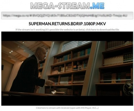 Mega-Stream: le streaming gratuit des films et chansons hébérgés sur Mega | Time to Learn | Scoop.it