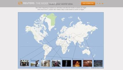 The Wider Image, la aplicación de fotoperiodismo de Reuters | Interactividad | Scoop.it