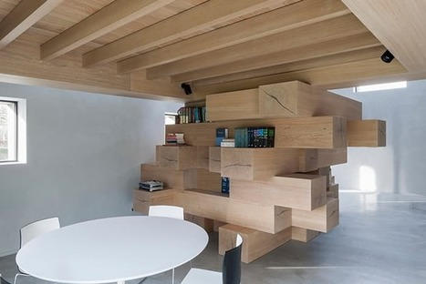Barn turned into attractive office with Jenga-like mezzanine | CLOVER ENTERPRISES ''THE ENTERTAINMENT OF CHOICE'' | Scoop.it