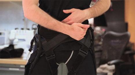La DARPA développe un exosquelette en tissu avec des capteurs souples | Remembering tomorrow | Scoop.it