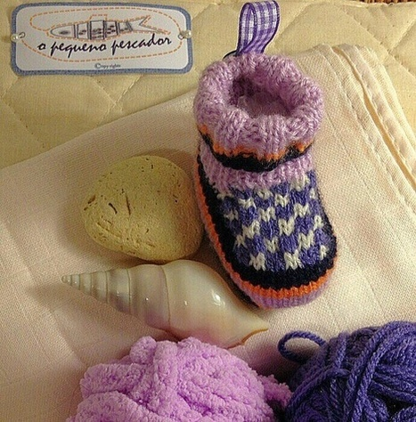 Baby Boots (by o pequeno pescador) | Baby Clothes (by opequenopescador) | Scoop.it