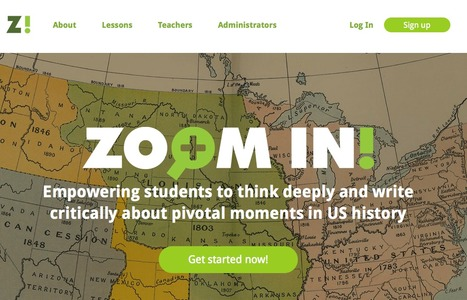 Free Technology for Teachers: Zoom In - US History Lessons Based on Primary Sources | Daring Ed Tech | Scoop.it