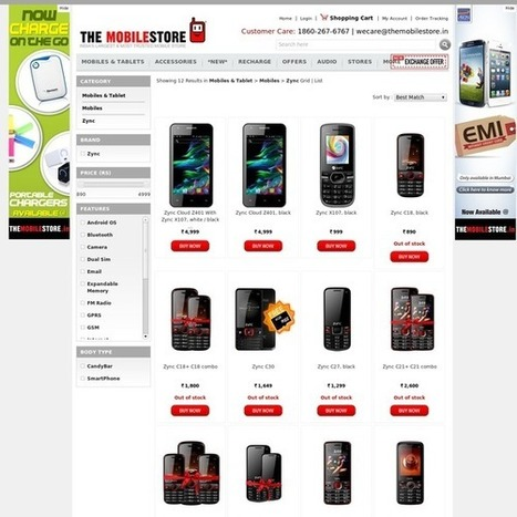 Zync Mobile phones buy online with best price | Mobile & Tablets | Scoop.it