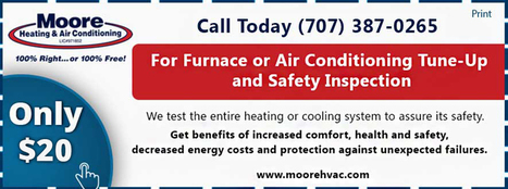 Heating and Air Conditioning Service Specials- Petaluma, Santa Rosa, Napa, San Rafael | Heating & Air Conditioning Services | Scoop.it
