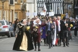 Shakespeare's Birthday Celebrations Procession - Stratford-upon-Avon - Shakespeare Country - E&A Details | Literary News | Scoop.it
