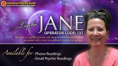 Psychic Jane: Beside You Through Thick and Thin | Psychic, Astrology and Spiritual Scoop | Scoop.it