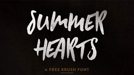 16 top free brush fonts | WordPress and Web Design | Scoop.it