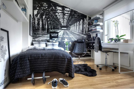 35 Great Design Ideas to make Small Rooms Look Bigger | Residential Architecture and Interior Design | Scoop.it
