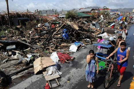 Typhoon Haiyan slams the Philippines | Theme 1: Managing the Natural Environment | Scoop.it