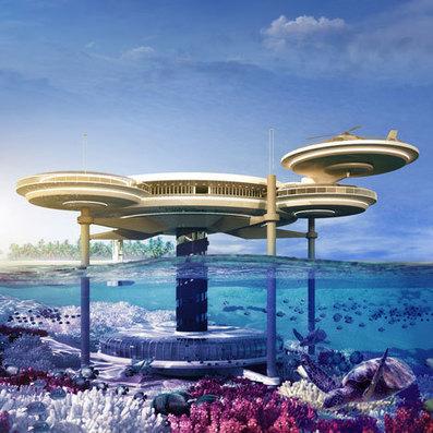 Water Discus underwater hotel by Deep Ocean Technology | VIM | Scoop.it