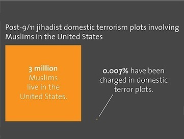 Charts: How Much Danger Do We Face From Homegrown Jihadist Terrorists?   News You Can Use - NO PINKSLIME   Scoop.it