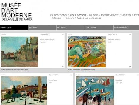 Collection en ligne - MaM - Paris.fr | Clic France | Scoop.it