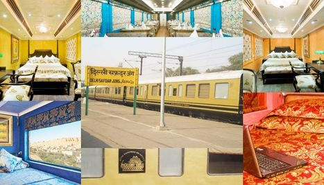 Rolling on Royal Rajasthan on Wheels to Explore The Cultural Heritage of India | India luxury train | Scoop.it